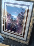Large Decour picture framed and matted