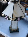 little lead glass lamp