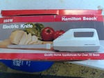 Hamilton Beach electric knife