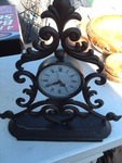 Nice 14 inch tall metal Decore clock