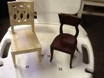 Two miniature chairs Decore great  Decore  peace