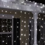 Wintergreen Lighting LED Curtain Icicle Lights