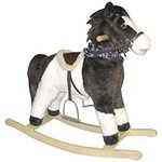 Charm Company Pinto Horse Rocker, Moving Mouth & Tail Ride On