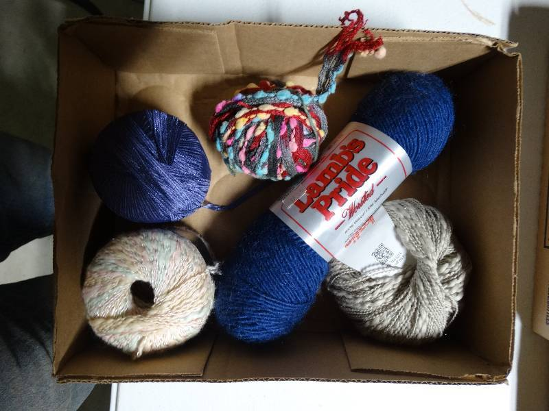 Random lot of yarn  | SCKEDD- In Possession Knitting Shop