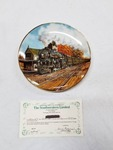 Danbury Mint Collector Train Plate