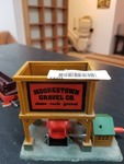 HO Scale Model Train Car Gravel Loader