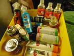lot of misc. chemicals, over 15 pieces!