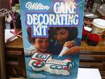 vintage cake decorating kit