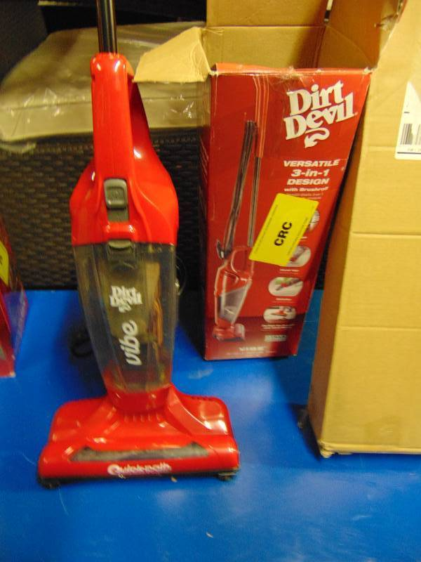 Dirt Devil Vibe 3 In 1 Corded Bag Less Stick Vacuum Appears Used