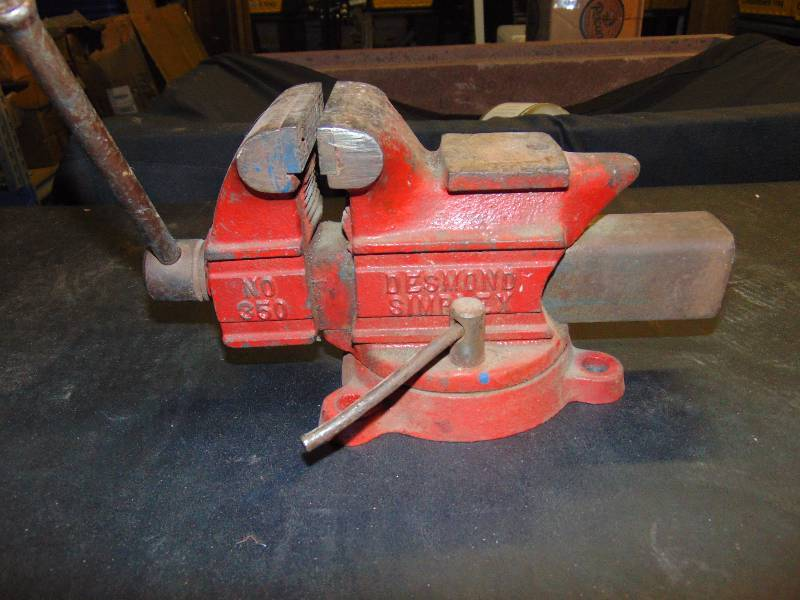 Desmond Simplex No 350 Bench Vise Urban Ohio Great Houseware