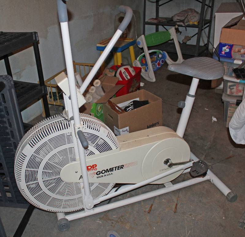Exercise Bike - Ergometer | ESTATE SALE - Wichita, KS