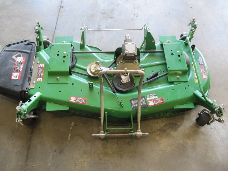 John Deere Autoconnect 54 In Finish Mower Deck | Retirement