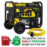 Champion 7000W Running / 9000W Peak DUAL FUEL Generator
