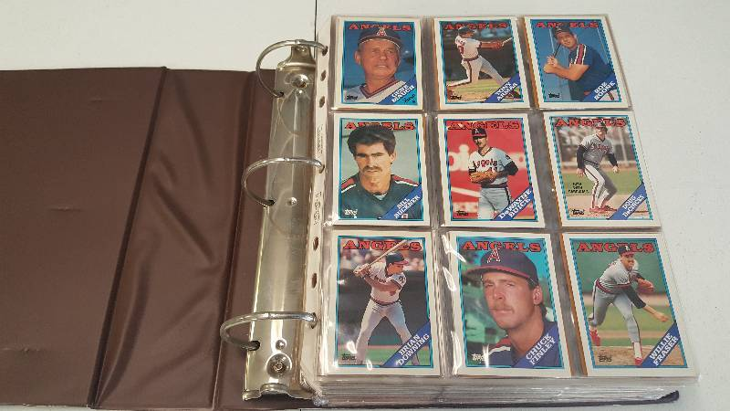 1988 Topps Baseball Complete Set 792 Cards Traded Update W Binder