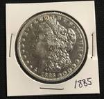 1885 Morgan SILVER Dollar - Very Collectible!!! *** 133 YEARS OLD! *** VERY NICE!