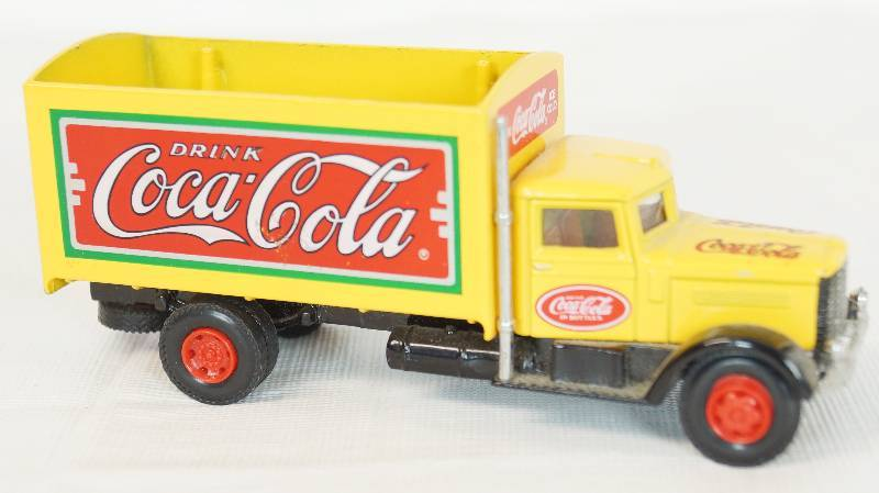 1991 Hartoy Inc Coca Cola Truck See Photos Combined Estate