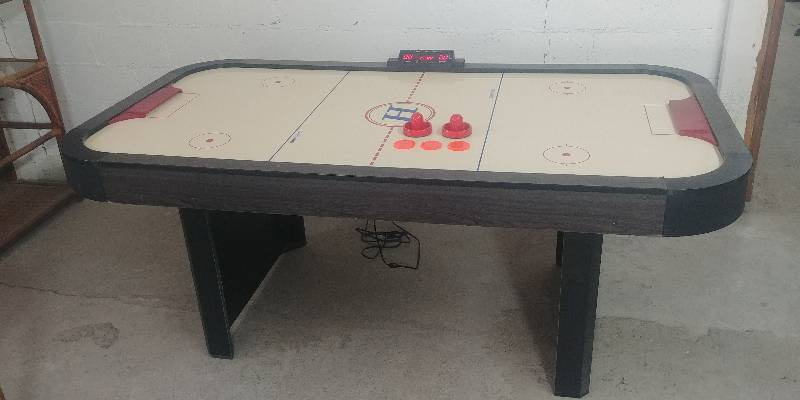 Air Hockey Table By Harvard In Good Working Condition | Warehouse 1023  Furniture Liquidation By Fleetsale | Equip Bid