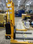 Big Joe 2200 LB electric straddle lift truck- LIKE NEW!!