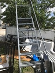 New 10 foot high portable stairs very nice high dollar items
