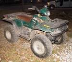 ATV Four Wheeler - POLARIS Xplorer - 4 x 4 - Automatic Variable Transmission - Runs! SEE VIDEO!