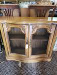 Credenza with Beautiful Engravings Around the Edges
