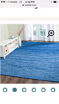 BRAND NEW Tyra Blue 9 x 12 Area Rug