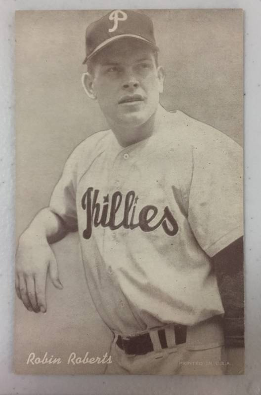 1947 66 Exhibits Robin Roberts Philadelphia Phillies