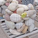 "8""-12"" Colorado Premium River Rock basket  - Landscaping Rocks - Beautiful!"