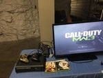 Xbox 360 120 GB HDD Two Controllers and 3 Games -  tv is not included