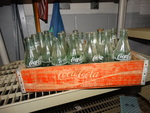 Lot of Antique Glass Coca-Cola Bottles
