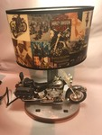 Harley Davison motorcycle lamp as pictured