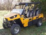 RESERVE MET!!!!!!!!   2013 Kawasaki KRT750C Teryx4 750 Side-by-Side-UTV 4x4 EPS Yellow - 4-PERSON ATV - VIDEOS ADDED!