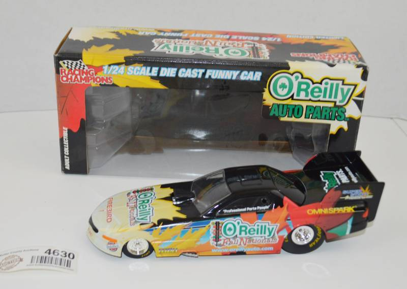 O'Reilly Auto Parts Diecast Funny Car 1:24 Scale | November