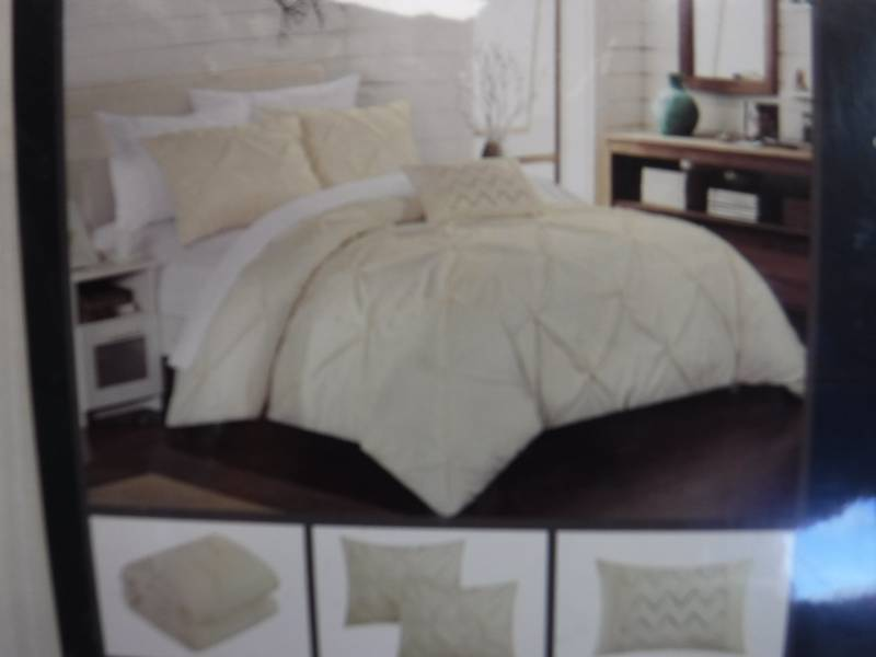 Queen Size Duvet Cover And 2 Pillow Shams Overstock Housewares