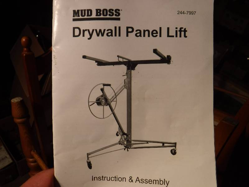 Mud Boss Drywall Panel Lift Overstock Housewares Christmas Gifts Shop Now And Save 3 Load Out Days Everything Starts At 1 00 Equip Bid