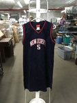 Sleeveless Basketball Jersey Sz XL