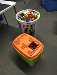 Two containers of Building Blocks