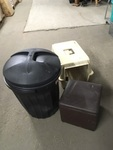 Trash Can, Kennel and Storage Ottoman