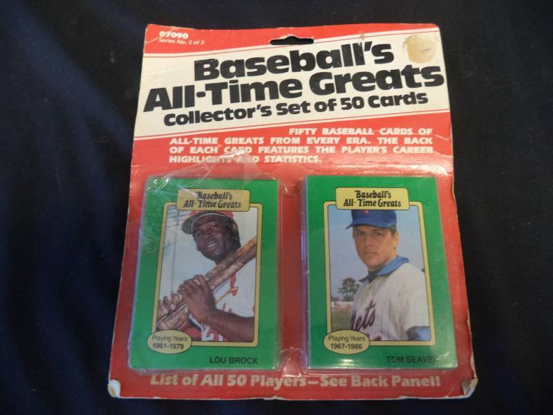 Baseballs All Time Greats 50 Cards Bobs Mid Week Blowout