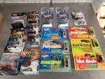 Lot Of Assorted Single Pack Cars And Hot Wheels Books