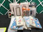 LOT OF PHONE ACCESSORIES - CASES