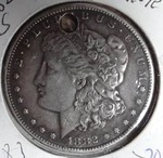 1882 S Morgan Silver Dollar, MS Details