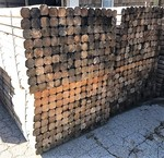 "(117)Landscaping Timbers 4"" x 4"" x 8' Bundle Forklift Avail Offsite Alt Pickup"