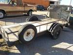 12' X 5' utility trailer w/ 5200lb axle and ramp gate