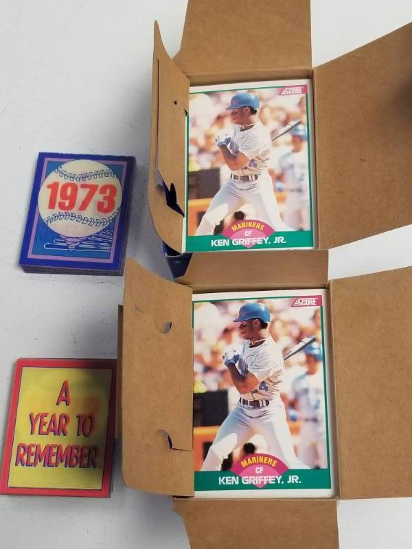 1989 Score Baseball Complete Update Traded Set Lot Of 2 W Ken