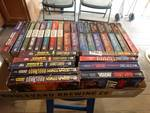 Lot of star trek books.