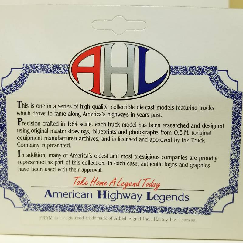 Ahl American Highway Legends Rare Asplundh Tree Experts And Fram