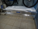 Better Built diamond plate full size truck tool box- New!
