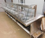 Buffet Glass Display Line