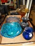 Lot of Glass Home Decor